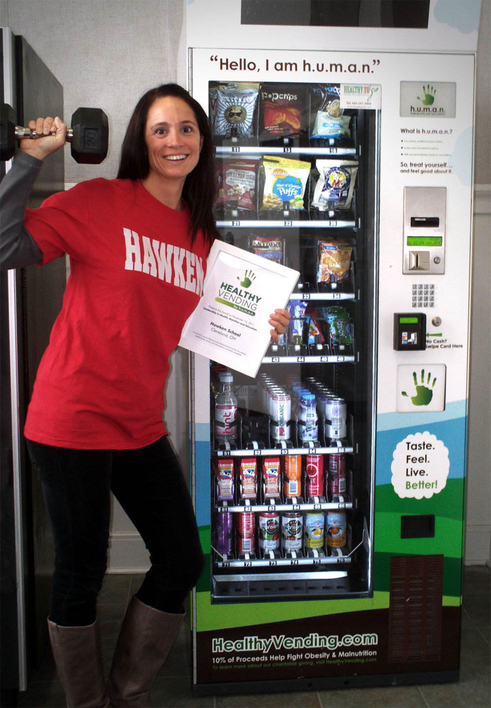 Hawken School Healthy Vending Program