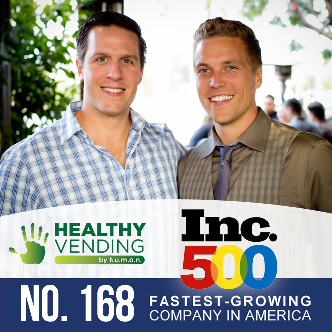 HUMAN Healthy Vending on the Inc 500