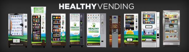 HUMAN Healthy Vending's Catalog of Nine Machines