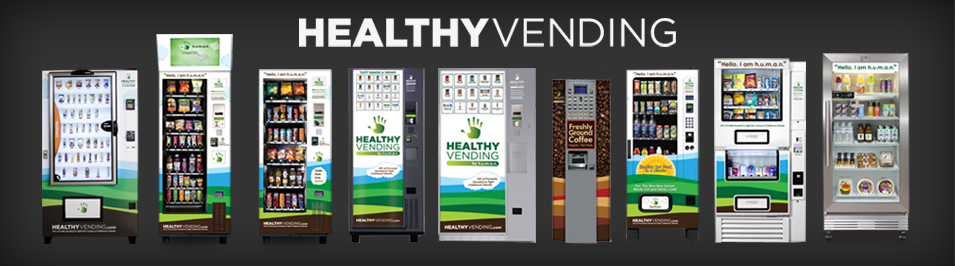 Healthy Vending Machines Franchise - HUMAN's vending machine catalog