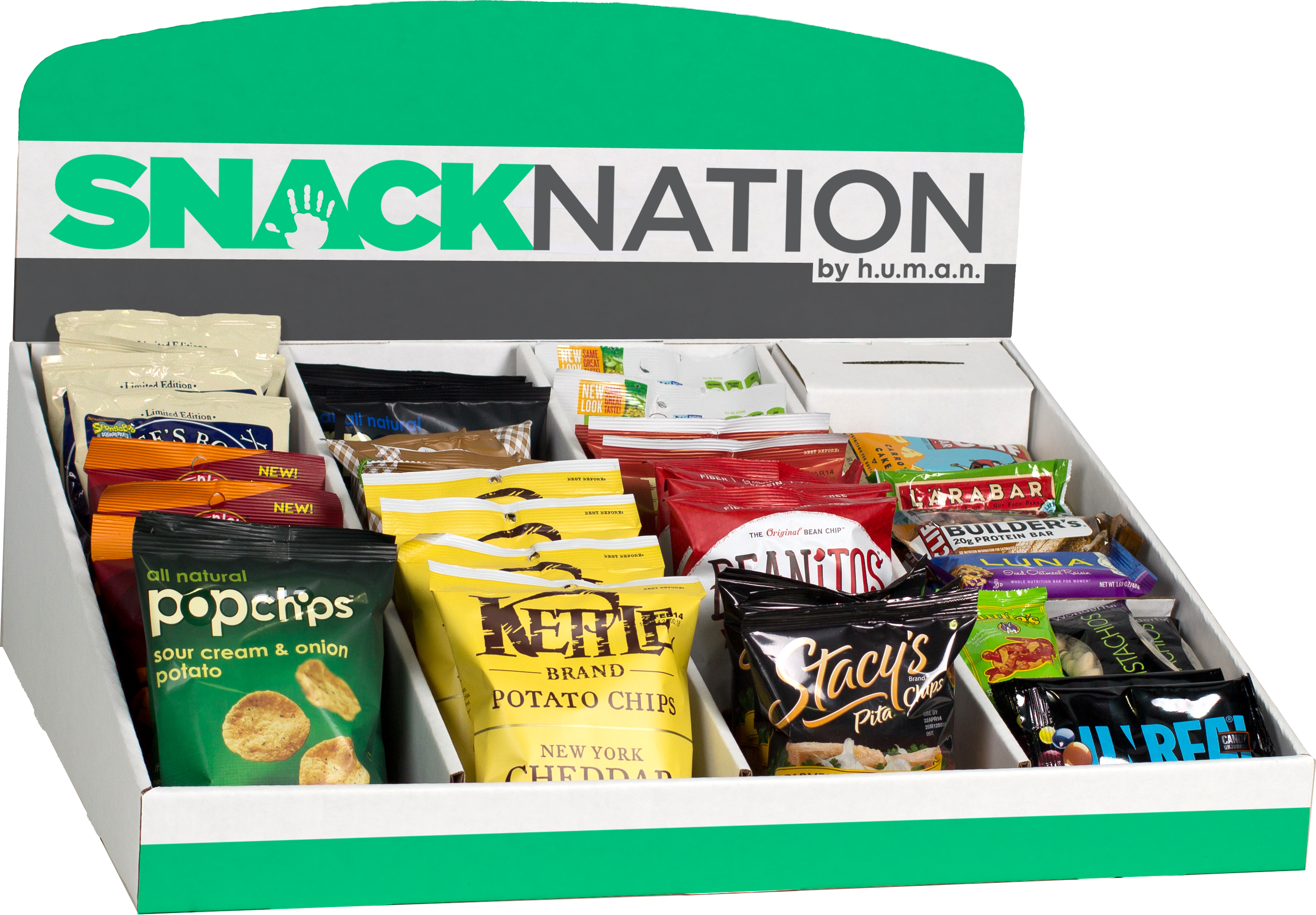 Healthy snack delivery box by SnackNation
