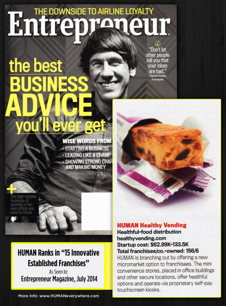 Entrepreneur Magazine | HUMAN Healthy Micro Markets