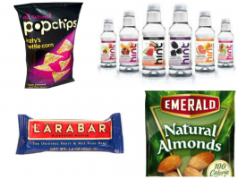 products in healthy vending machines in schools