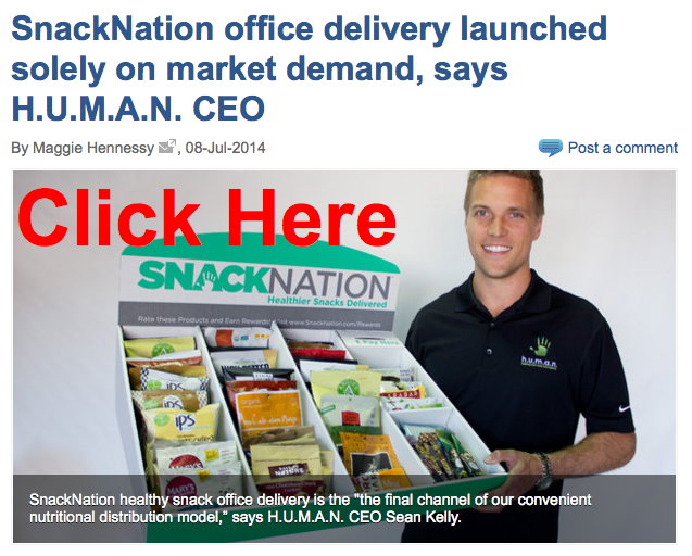 SnackNation Office Snack Delivery | HUMAN Healthy Vending