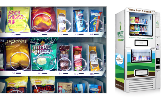 The Versatile Human Is A Modular Healthy Vending Solution Simple Coil Based Technology Designed For Snacks And Drinks Dismantles Into 3 Pieces