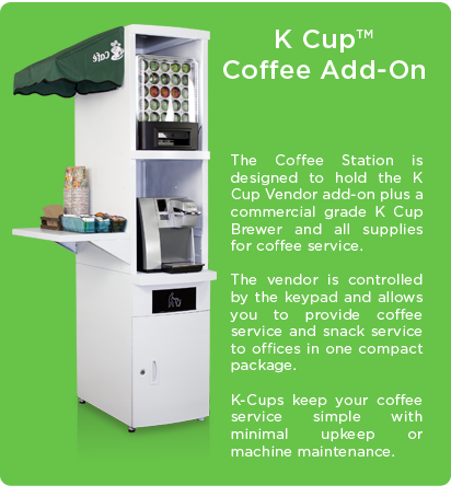K Cup Coffee Vending