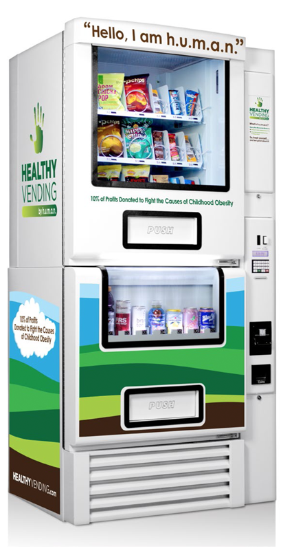 Versatile HUMAN Healthy Vending Machine
