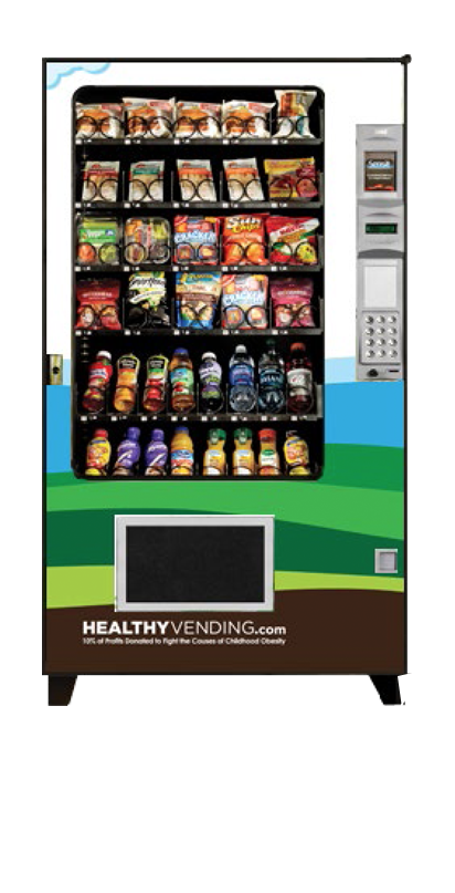 Traditional HUMAN Healthy Vending Machine