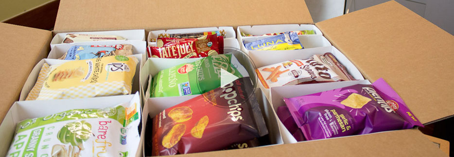 Office Snack Delivery Healthy Snacks Delivered To Your