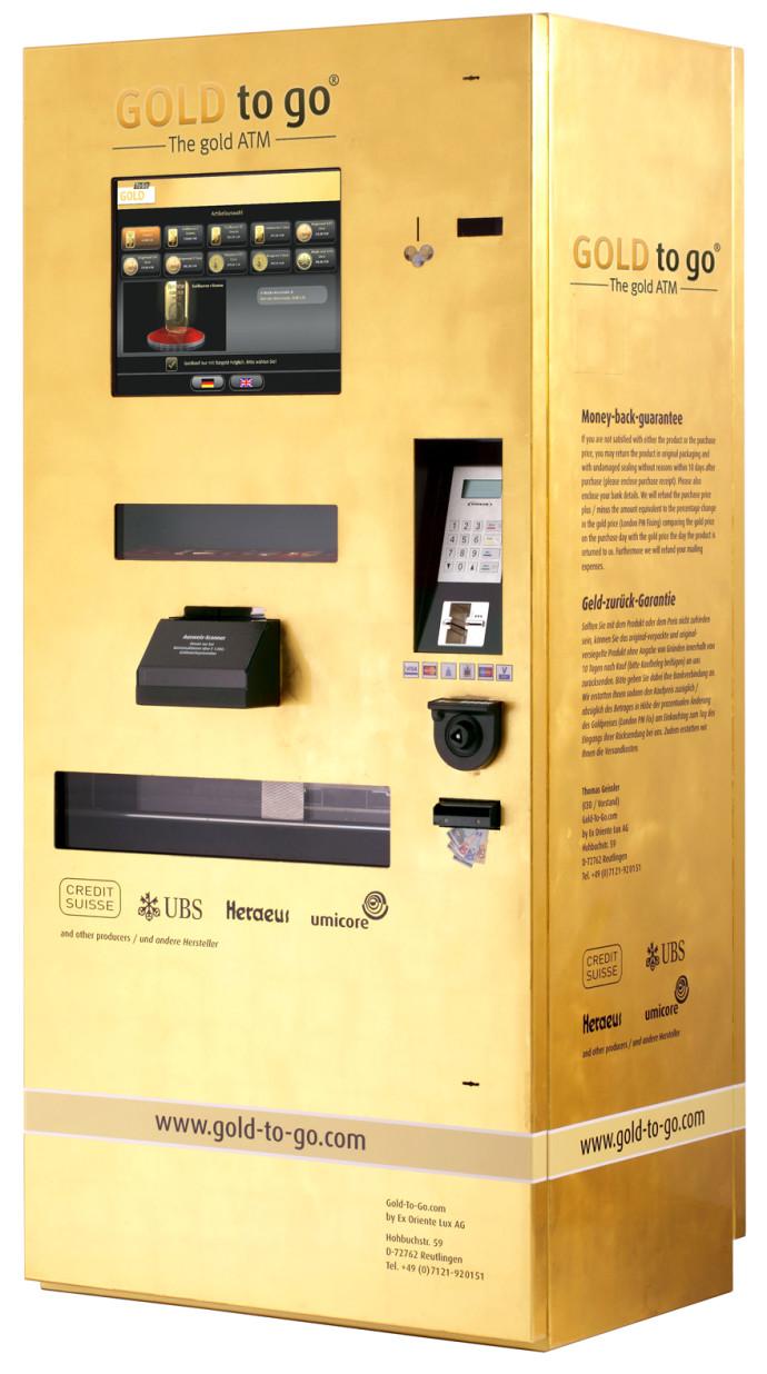 Gold To Go Vending Machine